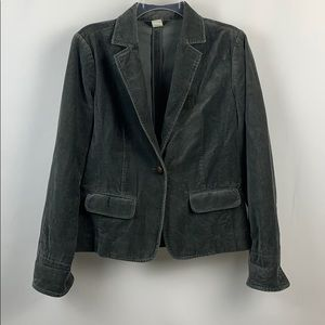 JCREW FACTORY Velvet Jacket